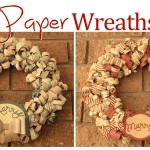 VIDEO: Paper Wreath WOW Projects