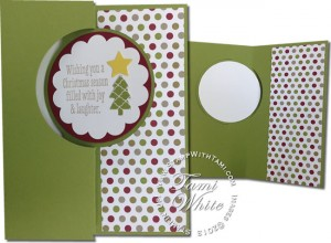 christmas messages-stampin up