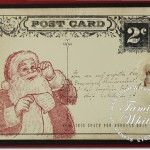 CARD: Santa's List Postcard