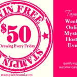 NEW: Mystery Hostess has become Free Stamp Friday