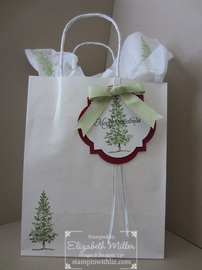 Lovely As A Tree Gift Bags Amp Instagram Stampin Up