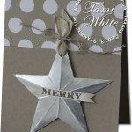 CARD: Merry Christmas Star WOW