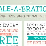 SALE-A-BRATION IS HERE – thru March 31, 2014