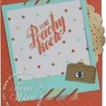 CARD: Peachy Keen Camera fun
