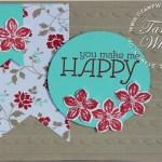 CARD: You Make Me Happy Card