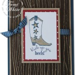 CARD: Kick Up Yer Heels Cowboy Boots
