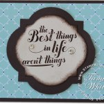 "CARD: Feel Goods ""Best things in Life"""