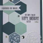 CARD: Six Sided Sampler birthday