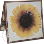 CARD: Amazing Sunflower WOW Card