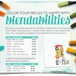 NEWS: 6 new Blendabilities Markers are now available!