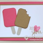 CARD: Summertime Ice Cream Popsicles