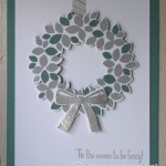 CARD: Wondrous Wreath from the Holiday Catalog