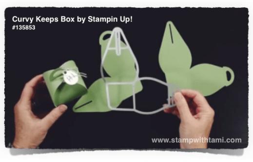 curvy keepsake box stampin up