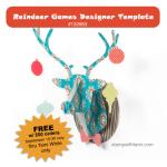 "FREE ""Reindeer Games Template"" Download w/ qualifying orders"