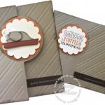 stampin up turkey card