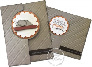 stampin up turkey card