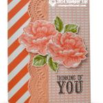 CARD: Stippled Blossoms Sympathy
