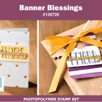 New Photopolymer Set: Banner Blessings