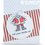 CARD: Get Your Santa on Part II