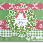 CARD: Wondrous Wreath Joy Card