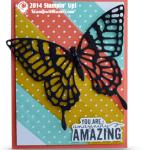SNEAK PEAK: Painted Petals Butterfly Card