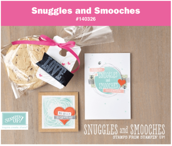 stampin up snuggles and smooches stamp set valentines