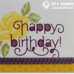 CARD: Beautiful Happy Birthday Rose