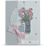 CARD: Love is Kindness Valentine Bouquet
