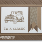 CARD: Guy Greetings Classic Car