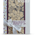 CARD: Happy Easter featuring SAB Sheer Perfection Vellum