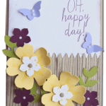 VIDEO: Mother's Day Beautiful Bouquet Flowered Fence Card