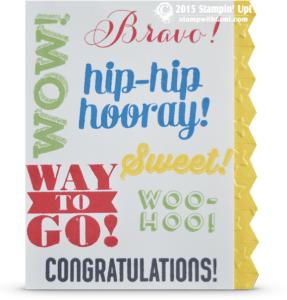 stampin up bravo card stamp set
