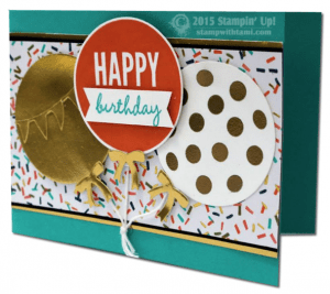 celebrate today stampin up claire daly