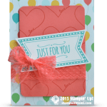 CARD: Just For You – You're Sweet