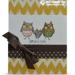 CARD: Adorbs Owl Card from Retiring Baby We've Grown