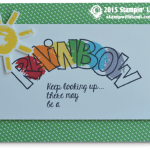 CARD: Keep Looking Up You May See a Rainbow
