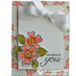 CARD: Celebrate You – Birthday Blossoms