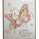 CARD: Sending Wishes Your Way Butterflies