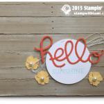 CARD: Crazy About You – Hello Sunshine