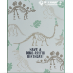CARD : Have a Dino-rrific Birthday
