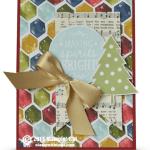 CARD:  Making Spirits Bright Cheer Holidays Card