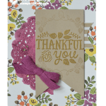 CARD: Thankful Forest Friends Card