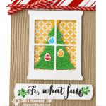 CARD: Oh What Fun Window Tree