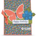 CARD: Happy Birthday Butterflies