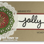 CARD: Wishing You Jolly Moments