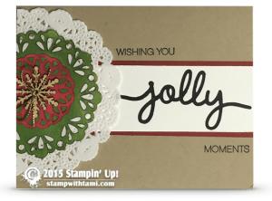 stampin up holly jolly kay cogbill