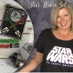 VIDEO & BLOG HOP: How to make a Star Wars Theme Party Pack