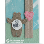 SNEAK PEEK: Bear Hugs Love You So Much Valentines Card