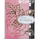 BLOG HOP: Gorgeous Rose Wonder Wow Card