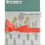 Know What I Love Sale-a-bration Card & 2 Winners Revealed